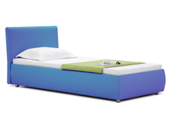 Зображення Кровать Лили Luxe 90x200 Синий 3