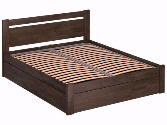 Ліжко Montreal Luxe 160x200 Олія Коричневий 4