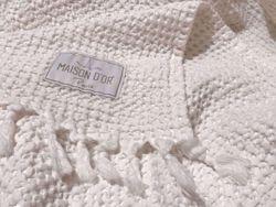 Плед Light вафельне 240x260 Білий