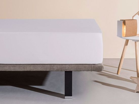 Наматрацник Aura L1 90x200 Світло сірий -1