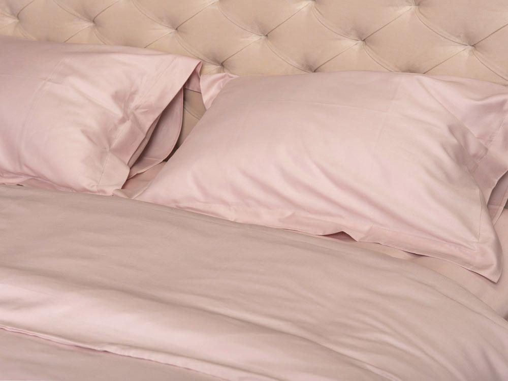 Пост. білизна Однотонне 240x260 Рожевий -1