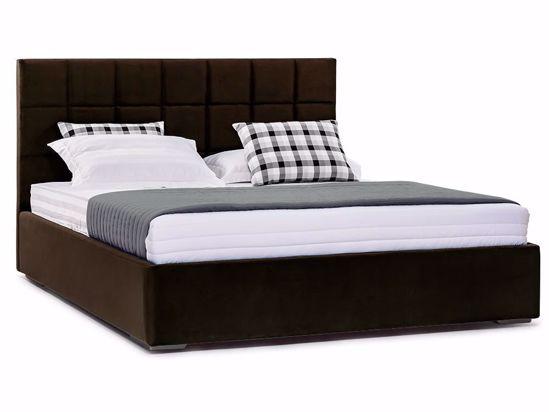Ліжко Марта міні Luxe 160x200 Коричневий 2 -1