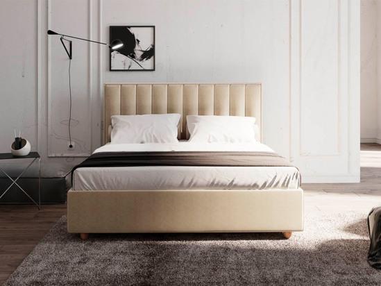 Ліжко Bristol Luxe 90x200 Бежевий 2 -3