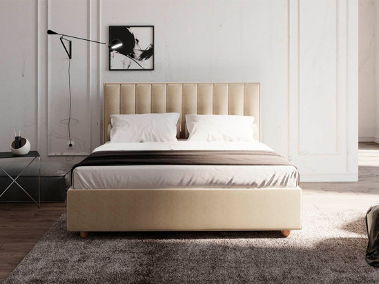 Ліжко Bristol Luxe 140x200 Сірий 2 -3