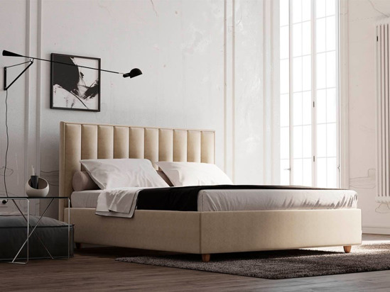 Ліжко Bristol Luxe 160x200 Сірий 2 -2