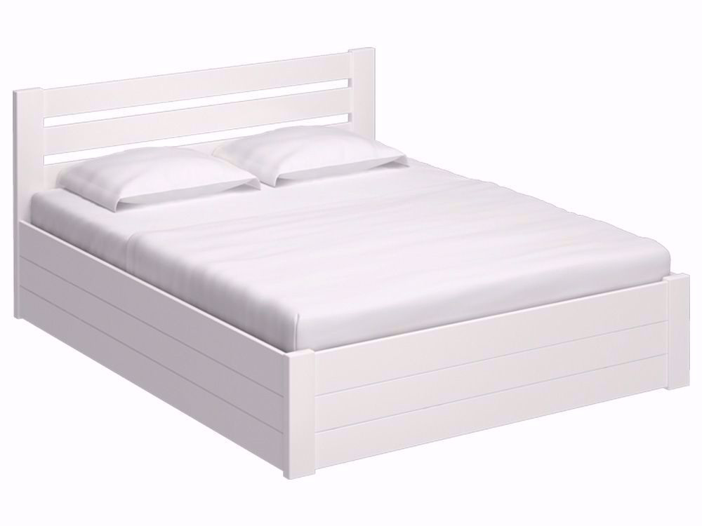 Ліжко Calgary Luxe 160x200 Фарба Білий -1