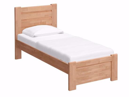 Ліжко Toronto 90x200 Лак Натуральний -1