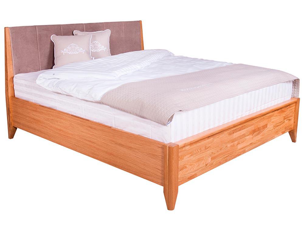 Ліжко Женева 160x200 Олія Натуральний 5 -1
