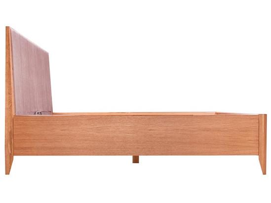 Ліжко Женева Luxe 160x200 Лак Натуральний 5 -3
