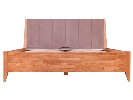 Ліжко Женева Luxe 160x200 Олія Натуральний 5 -2