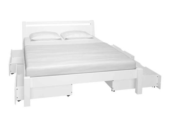 Ліжко Пегас 120x200 Фарба Білий -3
