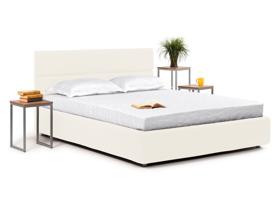 Ліжко Лаура Luxe 180x200 Білий 3 -1