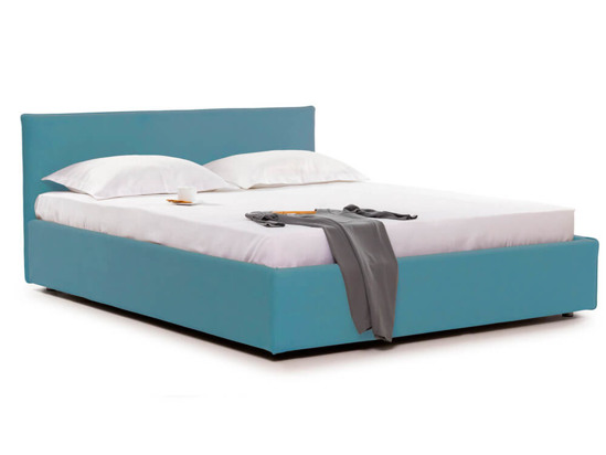 Ліжко Паула Luxe 160x200 Синій 6 -1