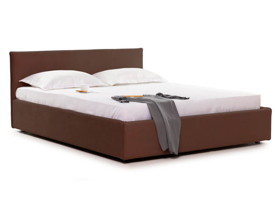 Ліжко Паула Luxe 180x200 Коричневий 2 -1