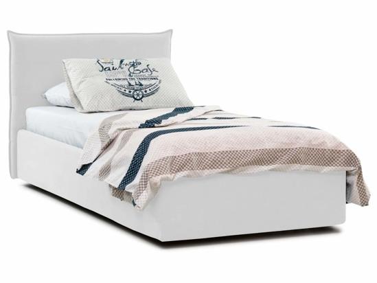 Ліжко Ніка Luxe 90x200 Білий 2 -1