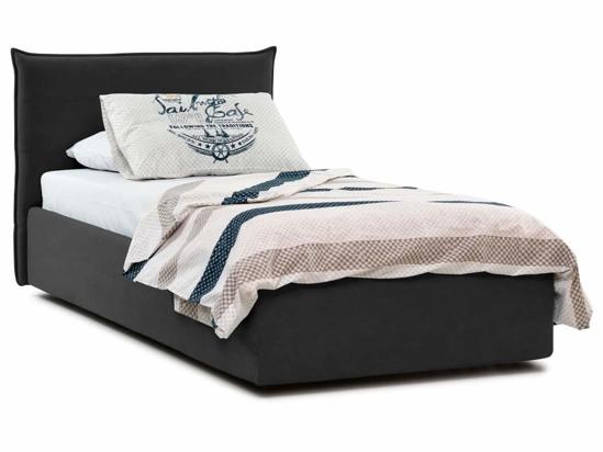Ліжко Ніка Luxe 90x200 Чорний 2 -1