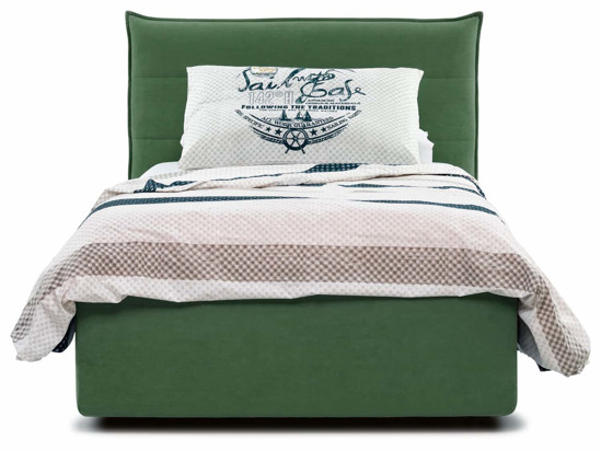 Ліжко Ніка 90x200 Зелений 2 -2