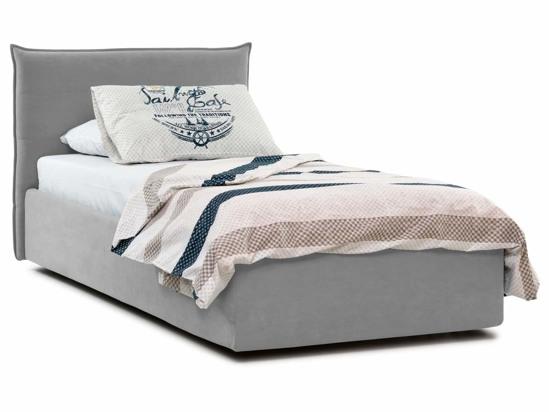 Ліжко Ніка Luxe 90x200 Сірий 3 -1