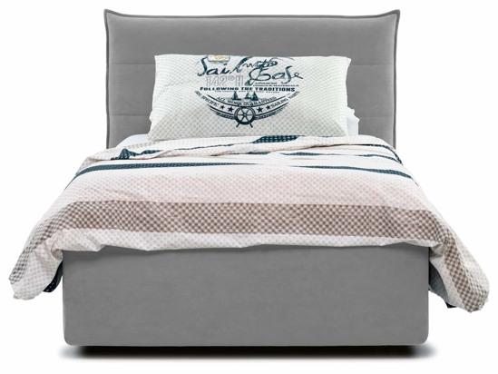 Ліжко Ніка Luxe 90x200 Сірий 3 -2