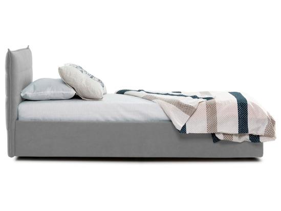 Ліжко Ніка Luxe 90x200 Сірий 3 -3