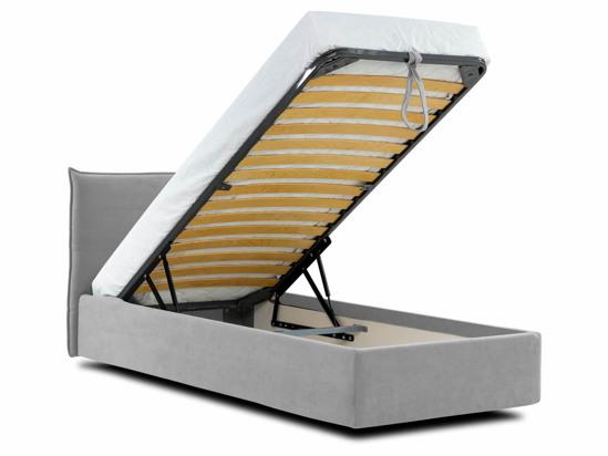 Ліжко Ніка Luxe 90x200 Сірий 3 -4