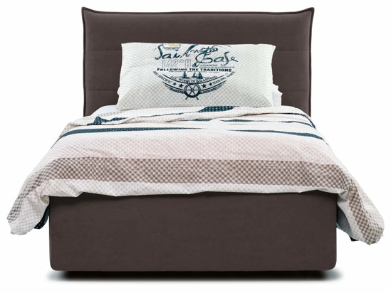 Ліжко Ніка Luxe 90x200 Коричневий 3 -2
