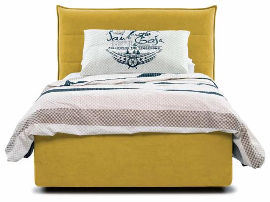 Ліжко Ніка Luxe 90x200 Жовтий 4 -2
