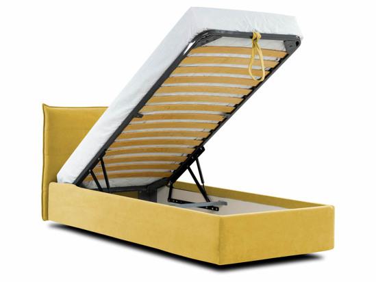 Ліжко Ніка Luxe 90x200 Жовтий 4 -4