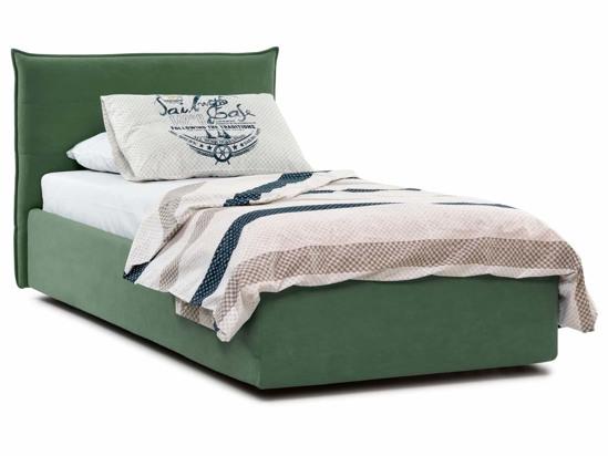 Ліжко Ніка Luxe 90x200 Зелений 4 -1
