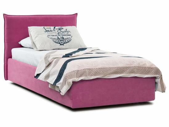 Ліжко Ніка Luxe 90x200 Рожевий 4 -1