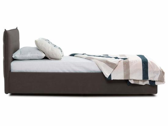 Ліжко Ніка Luxe 90x200 Коричневий 4 -3