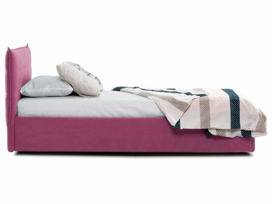 Ліжко Ніка Luxe 90x200 Рожевий 5 -3