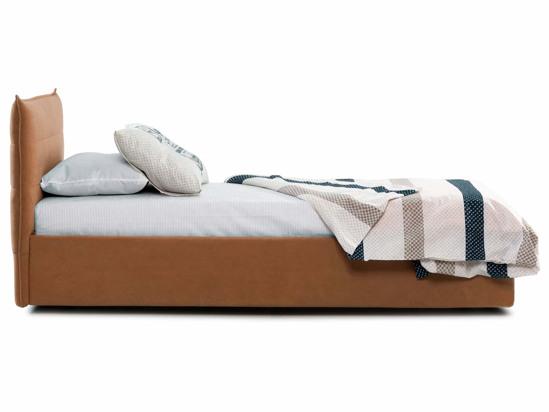 Ліжко Ніка Luxe 90x200 Помаранчевий 6 -3