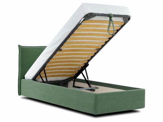 Ліжко Ніка Luxe 90x200 Зелений 7 -4