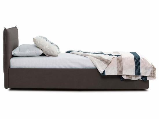 Ліжко Ніка Luxe 90x200 Коричневий 7 -3