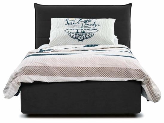 Ліжко Ніка Luxe 120x200 Чорний 3 -2