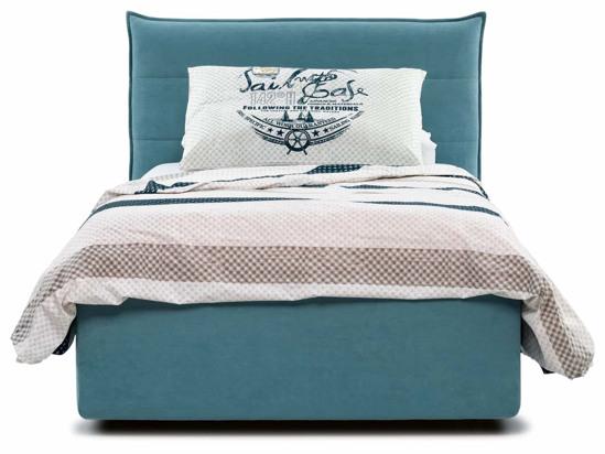 Ліжко Ніка Luxe 120x200 Синій 3 -2