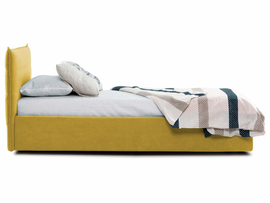Ліжко Ніка Luxe 120x200 Жовтий 5 -3