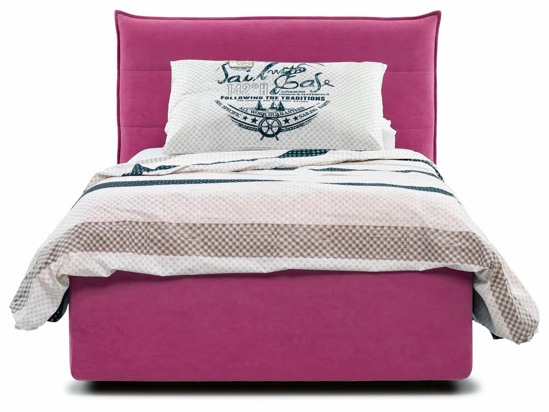 Ліжко Ніка Luxe 120x200 Рожевий 5 -2