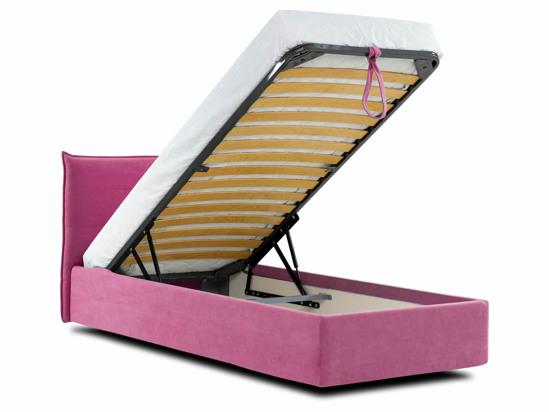 Ліжко Ніка Luxe 120x200 Рожевий 6 -4