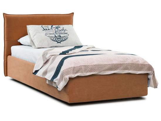 Ліжко Ніка Luxe 120x200 Помаранчевий 6 -1