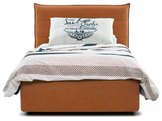 Ліжко Ніка Luxe 120x200 Помаранчевий 7 -2