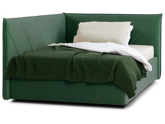 Ліжко Вероніка Luxe 120x200 Зелений 3 -2