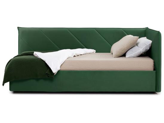Ліжко Вероніка Luxe 120x200 Зелений 3 -3