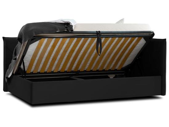 Ліжко Вероніка Luxe 120x200 Чорний 3 -4