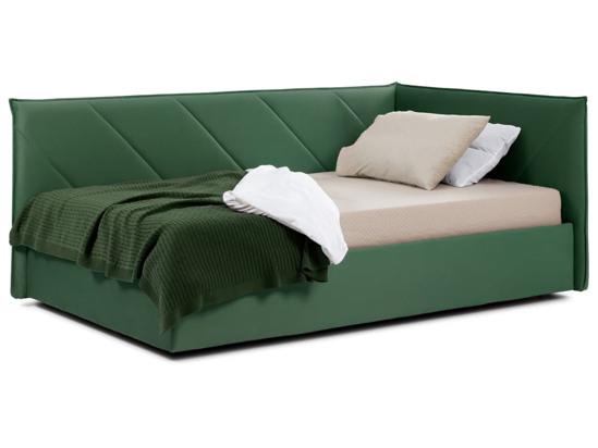 Ліжко Вероніка Luxe 120x200 Зелений 4 -1