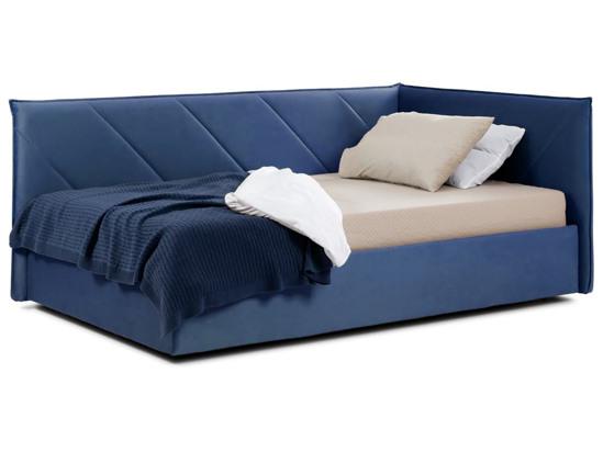 Ліжко Вероніка Luxe 120x200 Синій 4 -1