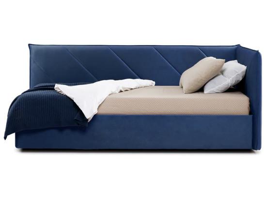 Ліжко Вероніка Luxe 120x200 Синій 4 -3