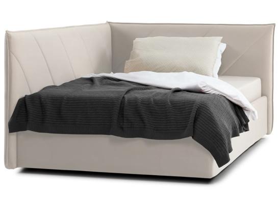 Ліжко Вероніка Luxe 120x200 Бежевий 4 -2