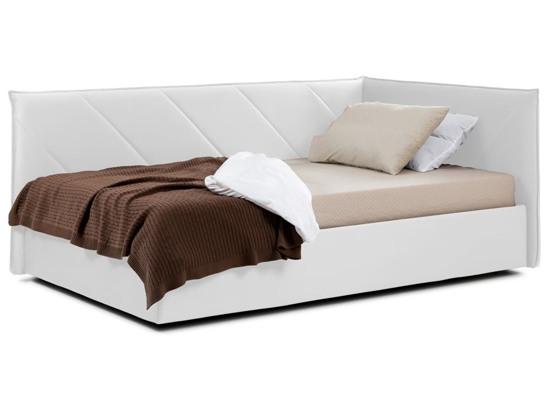 Ліжко Вероніка Luxe 120x200 Білий 4 -1